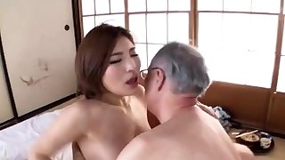 Japanese venerable and young porn