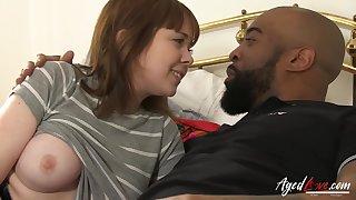 Roman Scene Be useful to Mature Lady Enjoying Threesome - Lacey Starr