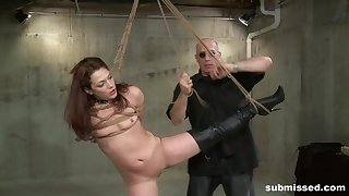 Bodily domination for a submissive whore